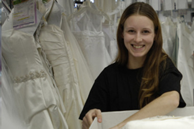 Wedding Dress Clean-Only Service - Pressing & Cleaning Service Only