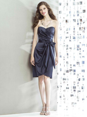 Dessy Social Bridesmaids Dress 8133
