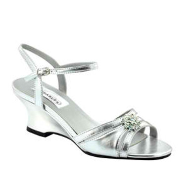 Cassie by Dyeables Style Silver Metallic - 28913