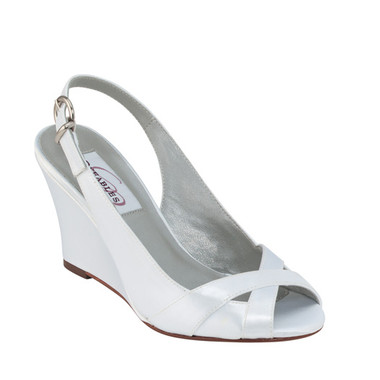 Coleen by Dyeables Style White Satin - 40826
