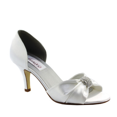 Dixie by Dyeables Style White Satin - 30513