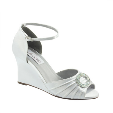 Etta by Dyeables Style White Satin - 28713