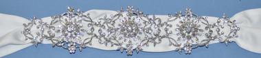 Elena Bridal Designs Wedding Sash Style E251 - Embellished Wedding Belt