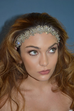 Elena Bridal Designs E370 - La Reina Art Deco Headband