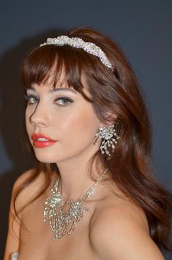 Elena Bridal Designs E516 - La Reina Art Deco Headband