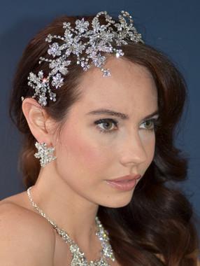 Elena Bridal Designs E543 - La Reina Art Deco Headband