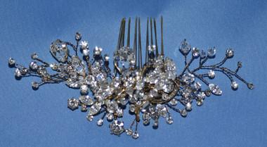 Elena Bridal Designs E509 - Art Deco Rhinestone Comb