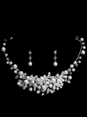 En Vogue Necklace and Earrings Set - Style NL1212
