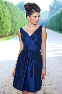 Alexia Designs Bridesmaids Style 4128 - Poly Shantung