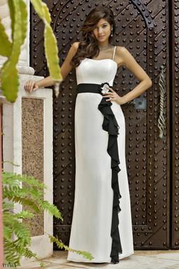 Alexia Designs Floor Length Style 4064 - Bella Chiffon