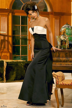 Alexia Designs Floor Length Style 4058 - Satin