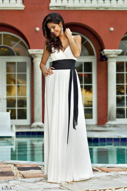 Alexia Designs Floor Length Style 4046 - Bella Chiffon