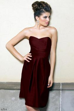 Alexia Designs Bridesmaids Style 4130 - Poly Shantung