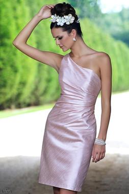 Alexia Designs Bridesmaids Style 4124 - Poly Shantung