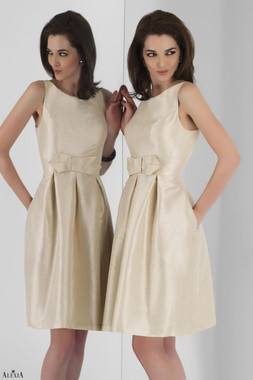 Alexia Designs Bridesmaids Style 4112 - Poly Shantung