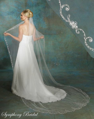 Symphony Bridal Veil - Style 5133VL - Cathedral Veil