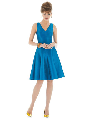 Alfred Sung Bridesmaids Style D662 - Dupioni
