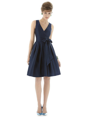 Alfred Sung Bridesmaids Style D666 - Dupioni