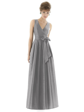 Alfred Sung Bridesmaids Style D667 - Dupioni