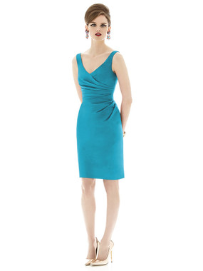 Alfred Sung Bridesmaids Style D642 - Dupioni