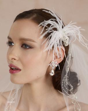 Marionat Bridal Headpieces 8251 - Marionat Bridal Accessories