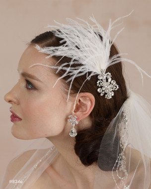 Marionat Bridal Headpieces 8246 - Marionat Bridal Accessories