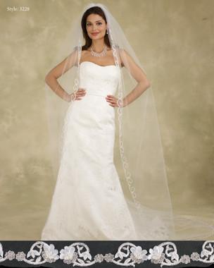 Marionat Bridal Veils 3228 - The Bridal Veil Company - Cathedral Veil