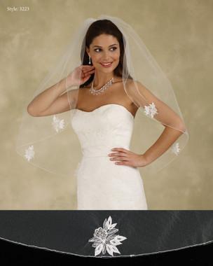 Marionat Bridal Veils 3223 - The Bridal Veil Company - Embellished Wedding Veil
