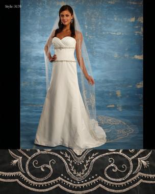 Marionat Bridal Veils 3170 - The Bridal Veil Company - Cathedral Veil