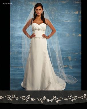 Marionat Bridal Veils 3168 - The Bridal Veil Company - Cathedral Veil