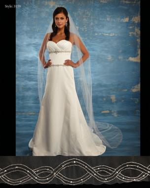 Marionat Bridal Veils 3159 - The Bridal Veil Company - Cathedral Veil