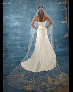 Marionat Bridal Veils 3158 - The Bridal Veil Company - Cathedral Veil