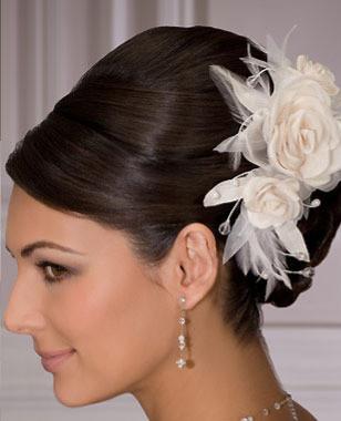 Bel Aire Bridal Headpiece 1951 - Flower Clip