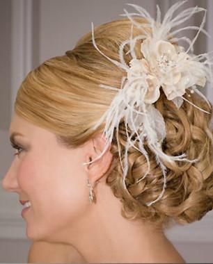 Bel Aire Bridal Headpiece 1958 - Flower Comb