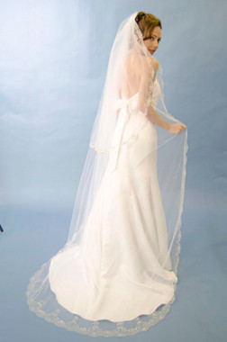 Ansonia Bridal Veil Style 197L - (Blusher NOT included). One Tier Only
