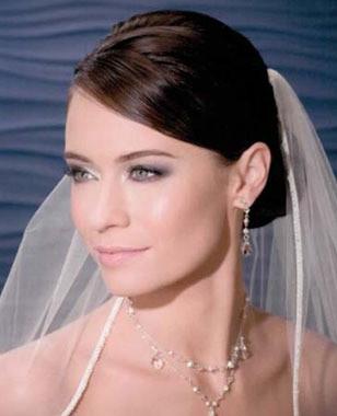 Bel Aire Bridal Accessory Style V7012  - Bias Organza Edge