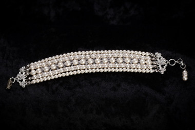 Erica Koesler Bracelet J-9358 - Rondelles & Crystals