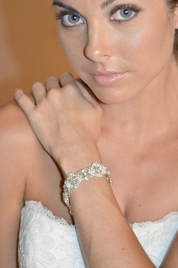 Ansonia Bridal Style 8639B -  Flower Design Bracelet
