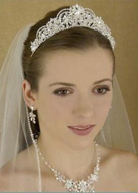 LC Bridal Tiara Style 1780 - Austrian Crystals