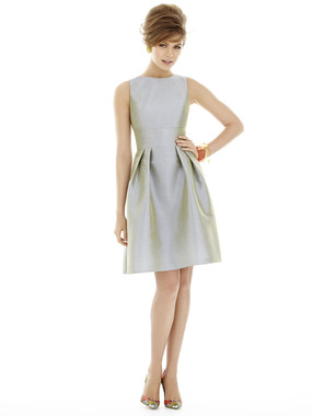 Alfred Sung Bridesmaids Style D679 - Dupioni