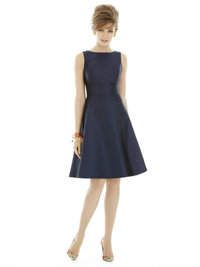 Alfred Sung Bridesmaids Style D681 - Dupioni