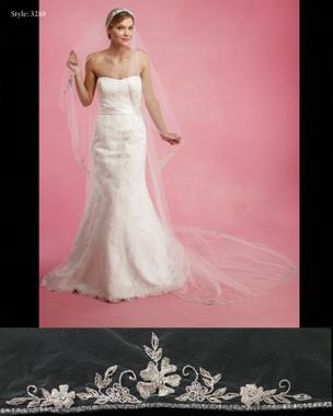 Marionat Bridal Veils 3288 - The Bridal Veil Company - Mantilla Cathedral Veil