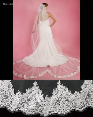 """Marionat Bridal Veils 3261- The Bridal Veil Company -120"""" Long"""