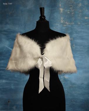 Marionat Bridal Veils 7107- The Bridal Veil Company - Faux Wrap