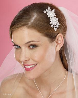 Le Crystal  Accessory - Marionat Bridal Headpieces 4610 - Rhinestone Comb