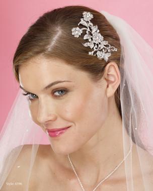 Le Crystal  Accessory - Marionat Bridal Headpieces 4596 - Rhinestone Comb