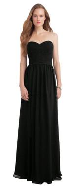 Bill Levkoff Bridesmaid Dress Style 1142 - Chiffon & Corded Lace