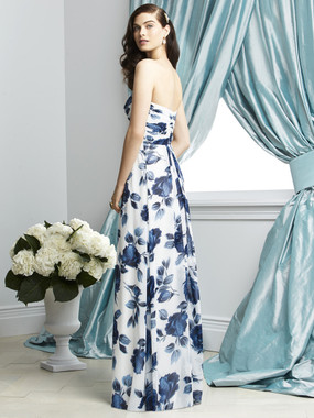 Dessy Bridesmaids Dress Style 2928 By Vivian Diamond - Lux Chiffon