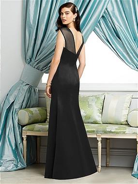 Dessy Bridesmaids Dress Style 2933 By Vivian Diamond - Matte Satin