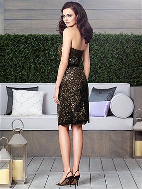 Dessy Bridesmaids Dress Style 2911 By Vivian Diamond - Matte Satin